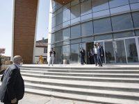 Temel Karamollaoğlu yeni genel merkez binasını inceledi