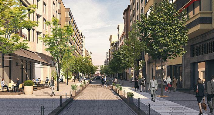 Abdi İpekçi Caddesi'nin ilk etabı 20 Haziran'da tamamlanıyor