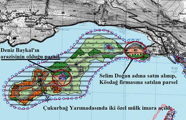 Çukurbağ'daki Deniz Baykal'ın arsası imara açıldı