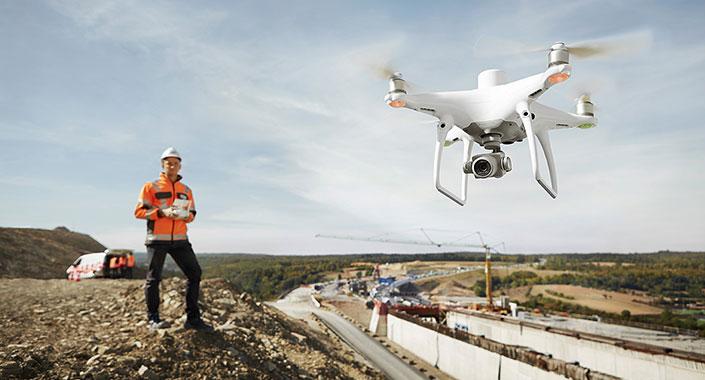İnşaat sektörü dronu keşfetti