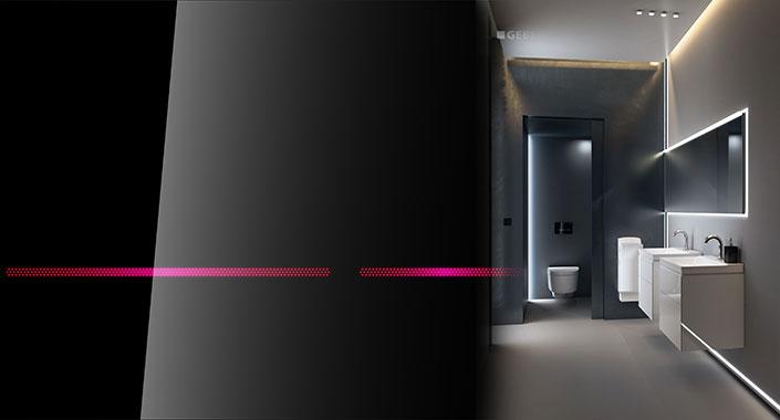 Geberit'ten banyolar için parlak bir fikir