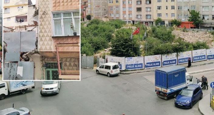Bir mahalle dolusu insan kentsel dönüşüm mağduru oldu
