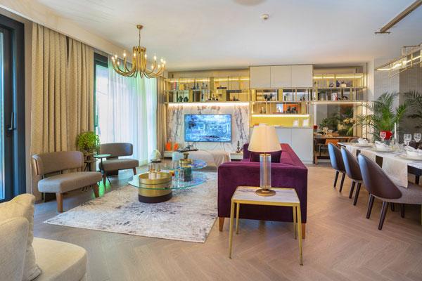 Cer İstanbul'un örnek evi hazır
