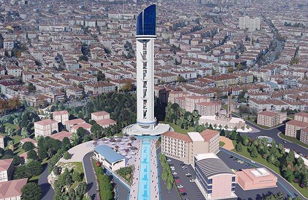 Bitmeyen Keçiören Kulesi için 60 milyonluk bütçe