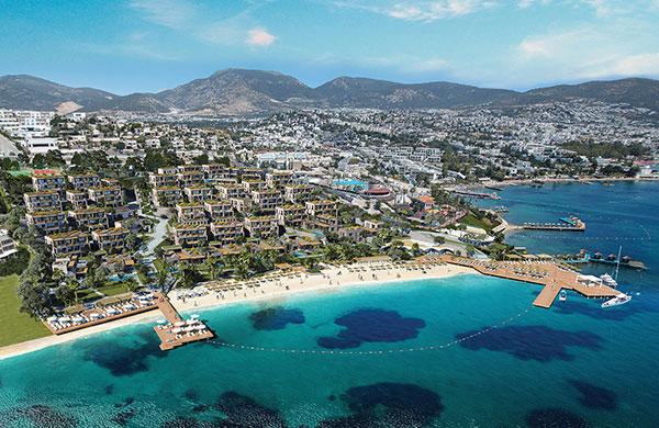 Deniz GYO Le Chic Bodrum için Kaya Hotels ile anlaştı