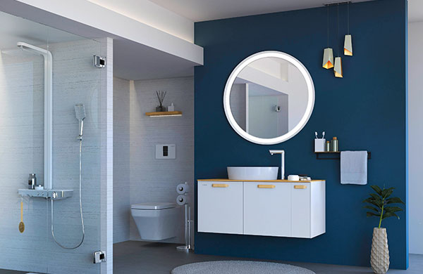 Creavit'in en yeni banyo mobilyası Elata