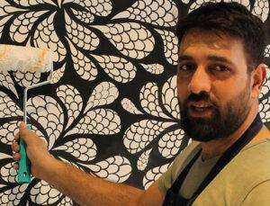 Fas Avluları evinize San Deco Stencil Serisi ile geliyor