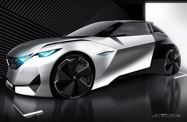 Peugeot konsept otomobillerini geliştiriyor