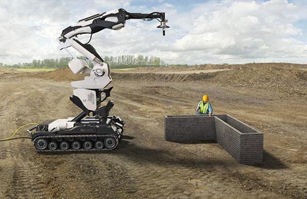 Robotlar inşaat sektöründe daha da güçleniyor
