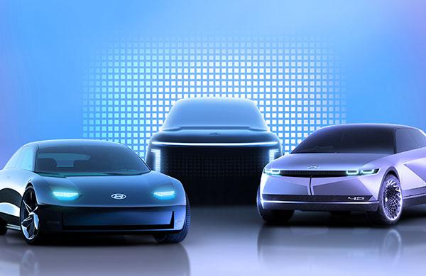 Hyundai'den yeni elektrikli Ioniq