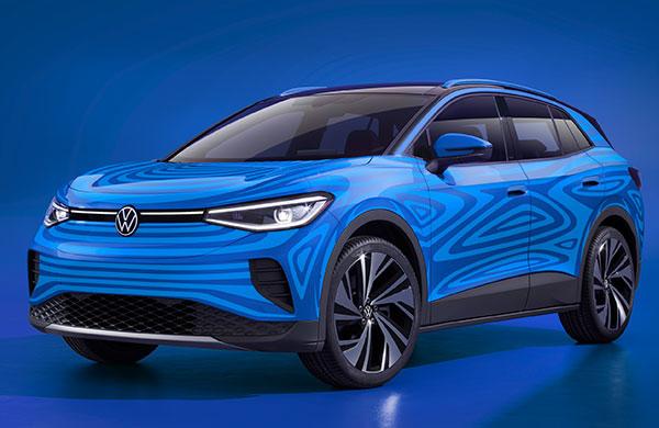 Volkswagen'in ilk elektrikli SUV'u ID.4 seri üretimde