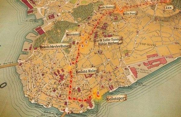 Galata Kulesi'nin Hilti'li restorasyonu ağır cezalıktır