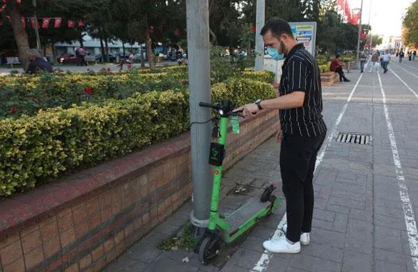 Elektrikli martı scooterlar Sakarya'da