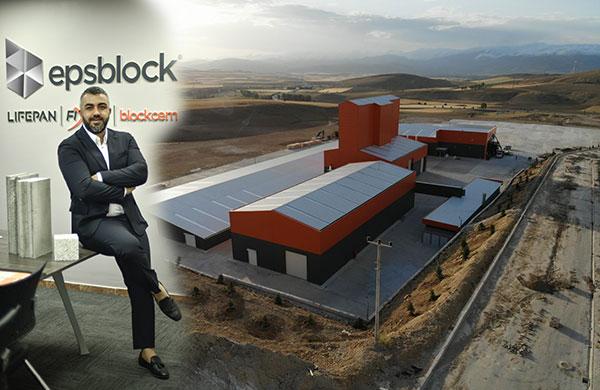 Epsblock ürünleri Bayburt'tan Uruguay'a kadar uzandı