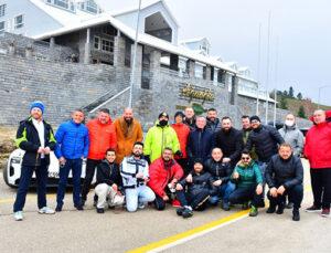 Ali Ağaoğlu Porsche tutkunlarıyla Uludağ'da buluştu