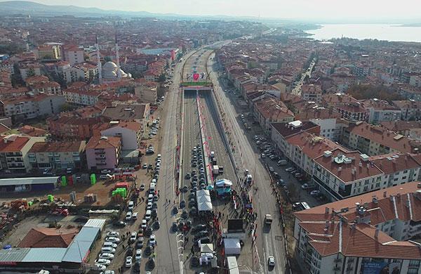 Ankara Gölbaşı şehir geçişi hizmete girdi