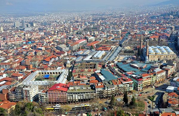 Bursa'da evlerin fiyatı 7 bin liraya kadar çıkıyor