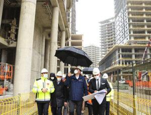 İFM Projesi yüzde 60 seviyesine gelmiş durumda
