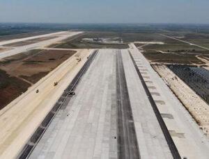 Çukurova Havalimanı 2022 Mart'ta hizmete girecek