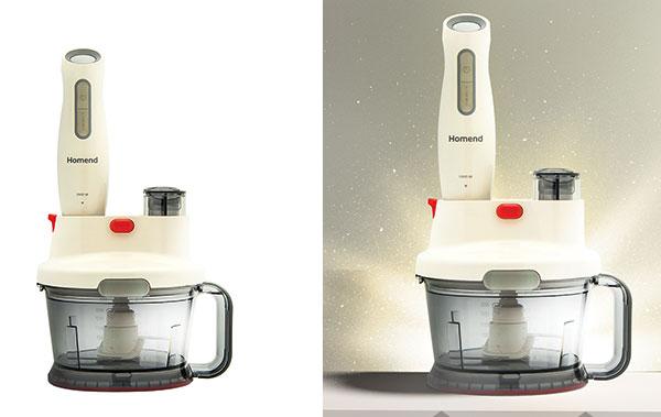 Homend mutfak robotu işleri kolaylaştırıyor
