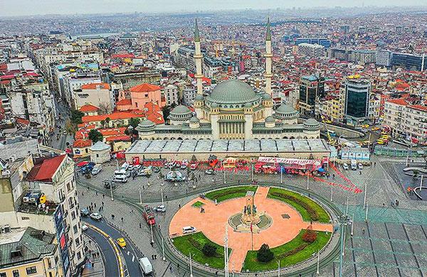 Taksim Cami'nin yüzde 95'i tamamlandı