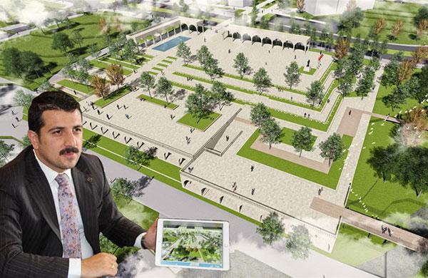 Hasankeyf'e kent meydanı kuruluyor