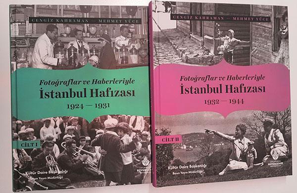 İstanbul Hafızası Kitabı yayınlandı