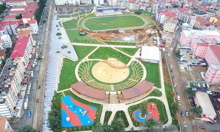 Trabzon Avni Aker Millet Bahçesi'nin ilk etabı tamamlandı