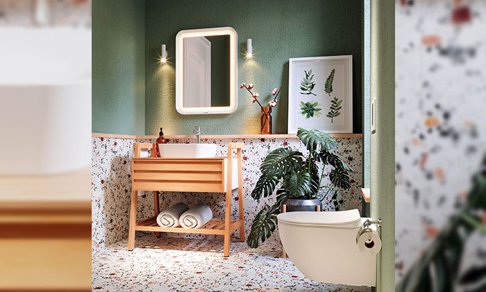Creavit, Truva ile banyolar fonksiyon kazanıyor