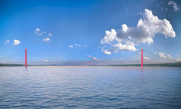 1915 Çanakkale Köprüsü'nün kapattığı araziler nereler?