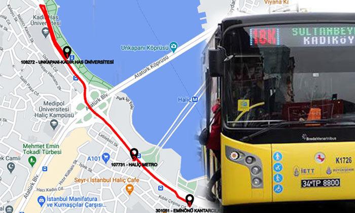 Alibeyköy Cibali Tramvay Hattı'na ücretsiz otobüs seferi