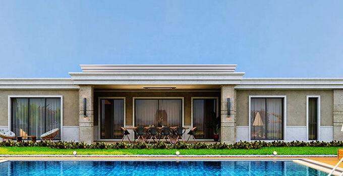 Göl İstanbul'da 97 tek katlı villa ve havuzlu yer alacak