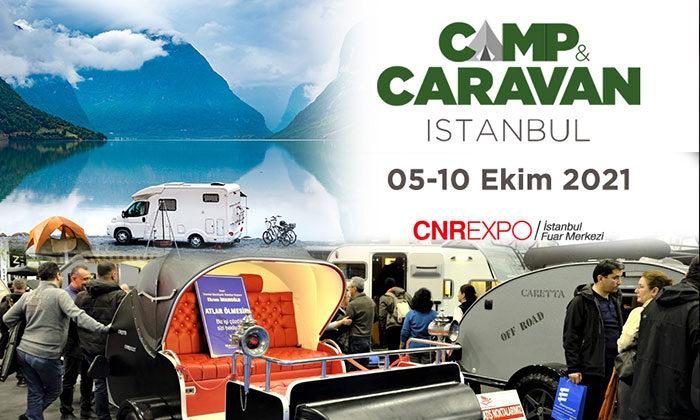 Camp ve caravan tutkunları 5 Ekim'de İstanbul'da buluşacak