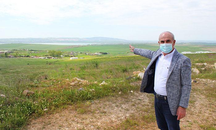 Büyükçekmece'de pandemiyi fırsat bilip göl havzasını imarlı arazi diye sattılar