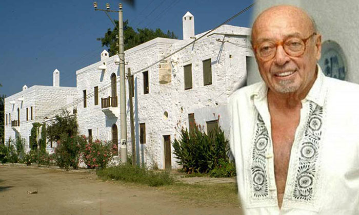 Ahmet Ertegün'ün Bodrum'daki evi satılmayacak