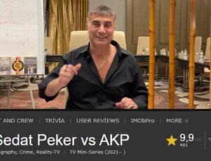 Sedat Peker'in videoları film sitesi IMDb'ye eklendi