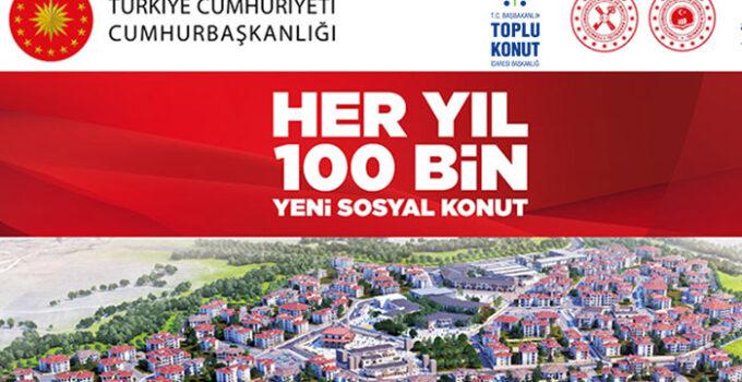 TOKİ'den Balıkesir Altıeylül'e 2.383 konut ile 44 dükkan!