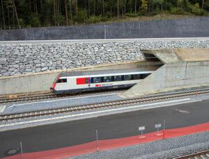 Gotthard Base Tüneli'nde Mono Steel kullanılıyor