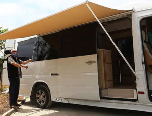 Sanayideki firmalar karavan üretimine yöneldi