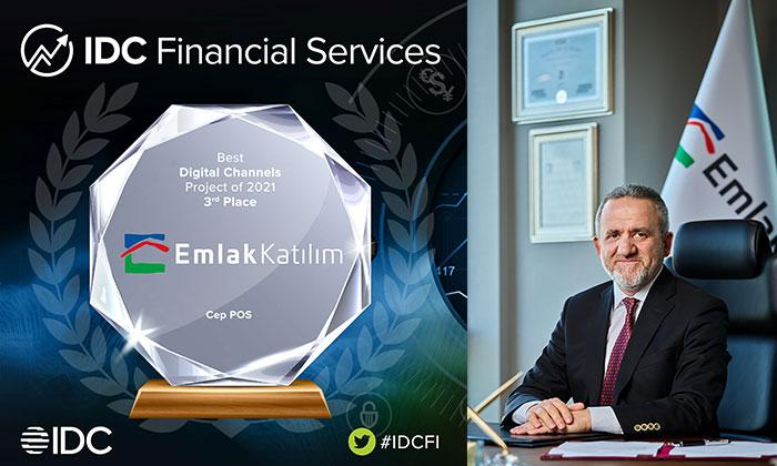 Emlak Katılım'a IDC'den ödül