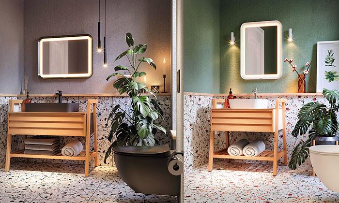 Creavit ile banyolarda bir yaz günü rüyası