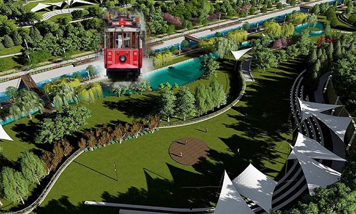 Ankara Millet Bahçesi'nin içinden tramvay geçecek