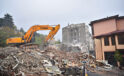 Binaların yıkım kaosu sona eriyor